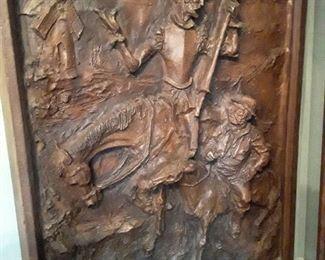 Don Quixote,  Mid Century (Papier mache/ composition, large)