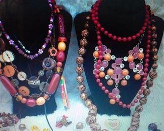 Costume jewelry galore...