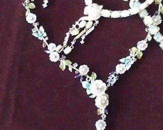 Opal OUTSTANDING selection (bracelets, necklaces & earrings + Gemstone floral bolo necklace TO DIE FOR!!! Wish the picture would be better. Come to see how detailed these pieces are.