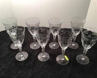 Stemware: 8 Wine Glasses https://ctbids.com/#!/description/share/233957