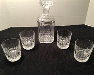 Old Fashioned Glasses and Decanter https://ctbids.com/#!/description/share/233959