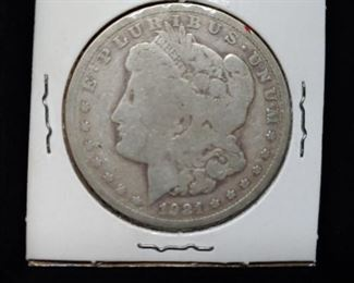 1921 Silver Morgan