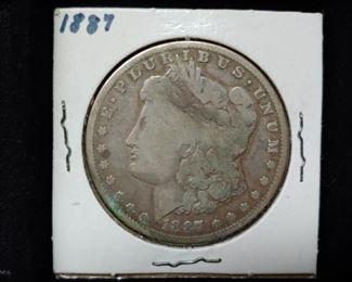 1887 Silver Morgan