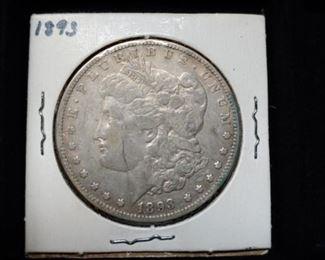 1893 Silver Morgan