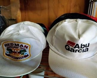 Vintage Truckers Hats (i.e. Folgers, Abu Garcia, Redman, Napa, Remington and Lots More)
