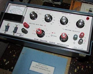 Heath/Zenith SG-5218 Sine-Square Audio Generator
