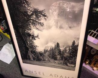 Ansel Adams original certificate