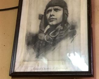 Pencil drawing artist signed