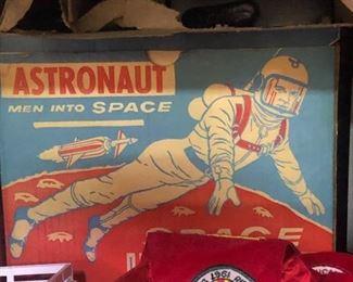 Space helmet 1950's