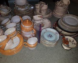Lots of china