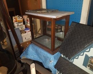 Several display cases