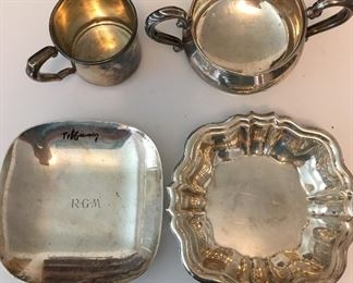 Sterling including one Tiffany