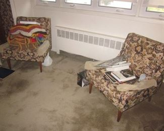 Pair of Vintage Parlor Seating