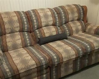 Sofa bed for the cabin.