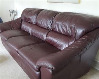Leather Sofas ×2