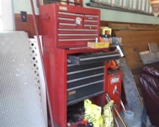 Craftsman tool box. NBC Century Side Box.