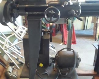 """Metal lathe. 8"""" swing, 3ft bed. Southbend Engine Lathe."""