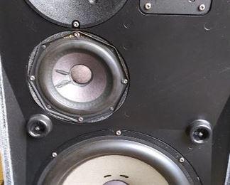 Vintage Bang & Olufsen Beovox S75 Speakers