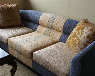 Queen Anne Upholstery sofa