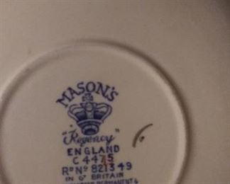 Antique MASONS REGENCY Plantation Colonial Pattern C4475 Made in England