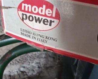 Model Power train set. HO scale