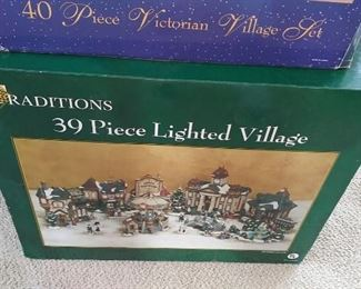 """Traditions Christmas """"villages"""""""