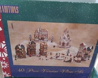 Traditions Christmas villages