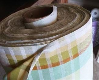 Huge bolt of fabric
