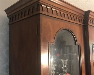 "Henredon's ""18th Century Portfolio"" china cabinet"