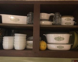 Corningware pieces