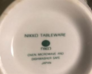 Nikko tableware set