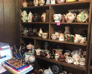 creamer and tea pot collections