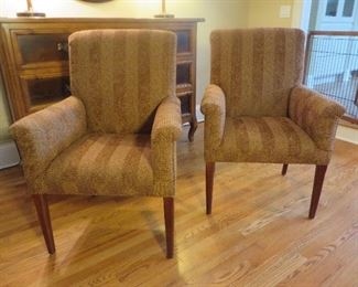 Slip Arm Chairs Baker Furniture Milling Road