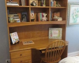 Desk with Hutch & Matching Chair Canadel Furniture Company
