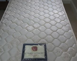 Twin Mattress  Stearns & Foster Chessington	  There are Two available