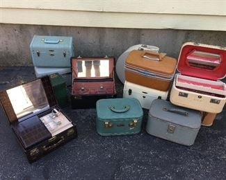 Numerous train (travel) cases. Have many more.
