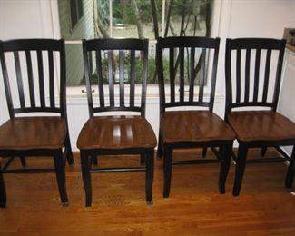 4 heavy kitchen chairs