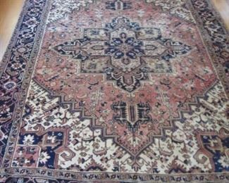 """6'10""""x 10'wool rug"""