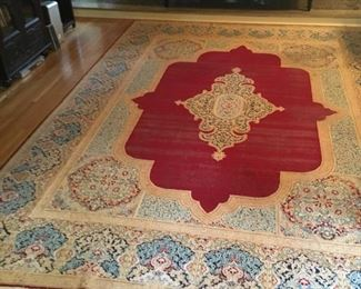 Vintage 10 x 14 Fine Quality Handmade Antique 1930's Persian Oriental Wool Area Rug and multiple other rugs