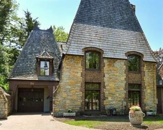 Exquisite French Tudor on the Mississippi