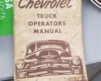 1954 Chevrolet truck manual