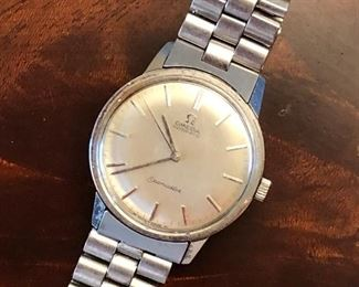 Men's 1960s Omega Seamaster stainless steel watch