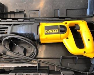 Lots of power tools, hardware and home maintenance equipment