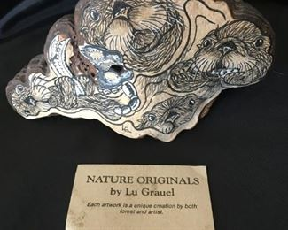 Nature Originals by Lue Grauel - Otters