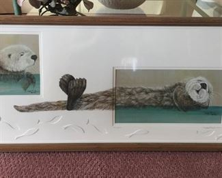 Otters by Julie Peek - 193/250