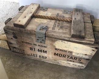 Vintage Mortar Box