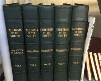 California of the South Book Set