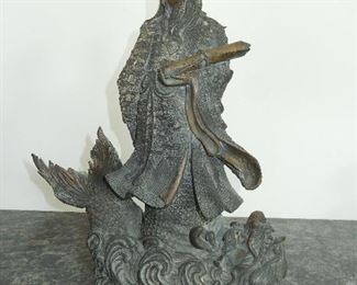 Chinese bronze height 16in.