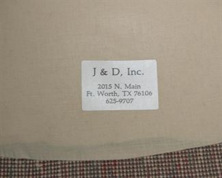 J & D Interiors  Inc. Sitting Chair