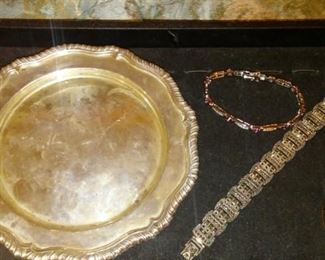 Sterling silver estate jewelry and sterling silver pieces.